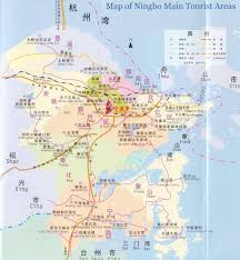Map Of Shanghai China by Map Of Ningbo Attractions Beilun Ningbo Map Tianyi Pavillion