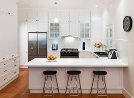 u shaped kitchens with islands kitchen white u shape kitchen island cabinet wooden laminated