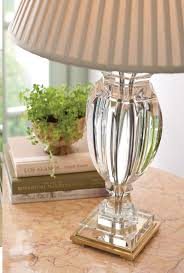 Crystal Desk Lamp by Crystal Lamp And Solid Crystal Table Lamp