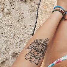 de 109 bedste billeder fra hamsa fatima hand tattoos på pinterest