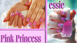 pink princess easy nail design tutorial nails of promise youtube