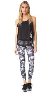 adidas by stella mccartney run adizero blossom leggings shopbop