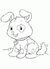new cute puppy coloring pages artsybarksy