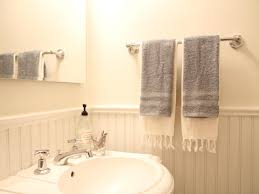 Towel Rails For Small Bathrooms How To Install A Bathroom Towel Bar How Tos Diy