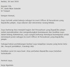 cover letter bahasa indonesia klik gambar untuk memperbesar contoh