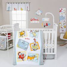 Gray And Yellow Crib Bedding Seuss Friends 5 Pc Crib Bedding Set By Trend Lab