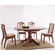 Extended Dining Table Delivery Within 1 2 Weeks 808se 54 Solid Round Extended Dining