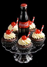 cherry coca cola cupcakes w cute coke bottle finished don u2026 flickr