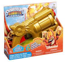 amazon com skylanders trigger happy u0027s dart launcher toys u0026 games
