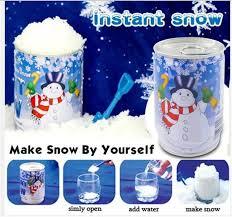 2016 christmas decoration diy instant snow magic prop diy instant