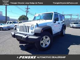 jeep avenger 2012 used jeep wrangler unlimited sport at triangle chrysler jeep