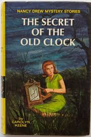 nancy drew 1 secret clock 1959 edition book
