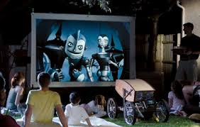 Backyard Projector Street Use Backyard Projectors