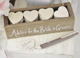 wedding gift guest advice for the and groom the heart shape notes our
