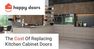 kitchen cabinet doors replacement cost the cost of replacing kitchen cabinet doors in 2021
