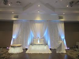 wedding backdrop burlap furniture drape lovely burlap fabric draping marvelous