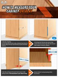 how to measure cabinet pulls 110 degree blumotion compact 39c series 1 1 2 overlay on soft