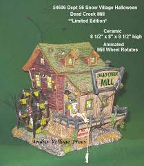 dept 56 snow village halloween miniature buildings and accessories
