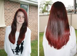 Color Dye For Dark Hair Now Thats Peachy Hair Dye Tutorial Dark To Light Shades Of Red