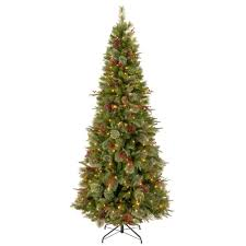 national tree company 7 1 2 ft rocky ridge slim pine hinged