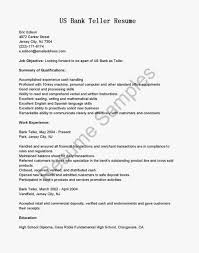 Retail Banking Resume Example Bank Resume For A Bank Teller Teller Resume Sample Resumeliftcom