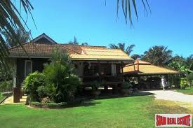 one bedroom houses for sale traditional thai hard wood one bedroom house for sale in krabi pak