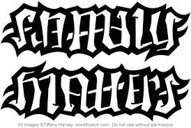 family matters ambigram a custom ambigram of the wor flickr