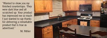 Black Countertop Kitchen - spreadstone countertop refinishing kit