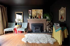 room with black walls 4 tips on how to use black walls inside your home