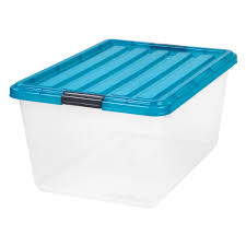 Extra Space Storage Boxes Sterilite The Home Depot