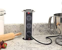 Kitchen Appliance Outlet Installing A Pop Up Electrical Outlet Pro Construction Guide
