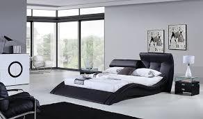 bedroom modern mens bedroom accessories black leather bed frame