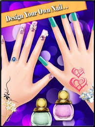 nail art design girls games apk download free casual game for