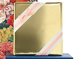 shiny wrapping paper gold wrapping paper etsy