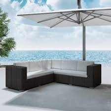 ivy bronx ackerson outdoor sectional with cushions u0026 reviews wayfair