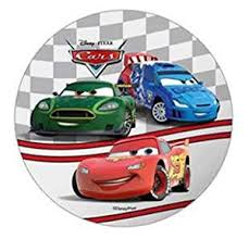 cars cake toppers disney pixar cars cake topper 21 cm edible wafer rice iv paper