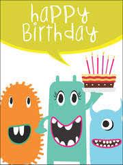 free printable birthday kids cards create and print free