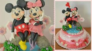 mickey and minnie cake topper tutorial mickey mouse and minnie cake topper fondant topolino