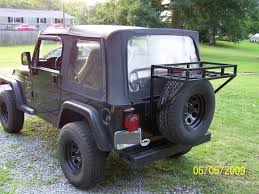 modified jeep wrangler yj home made mods