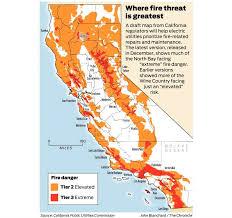 Map Writer California Fire Threat Map Not Quite Done But Close Regulators