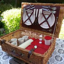 vintage picnic basket vintage picnic suitcase luggage and suitcases