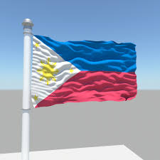 Flag Philippines Picture Philippines Flag 3d Model Cgtrader