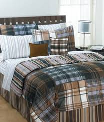 Plaid Bed Sets Plaid Comforter Sets The Bentley Set 18 You Ll