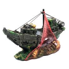 popular aquarium pirate ship buy cheap aquarium pirate ship lots