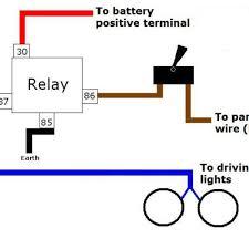 stunning narva spotlight relay wiring diagram driving light wiring