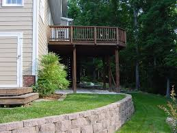Backyard Ideas For Sloping Yards Lovely How To Level A Sloped Backyard Part 11 Best 25 Sloped