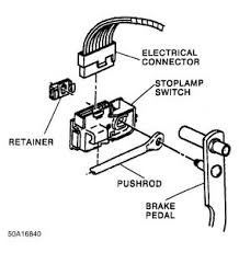Light Switch Replacement Brake Light Switch Replacement My Truck Is A Sierra I Would Like