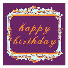 framed greeting cards simple happy birthday greeting card idea with decorative framed