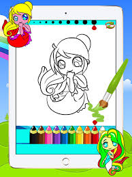 princess series coloring books kids drawing painting
