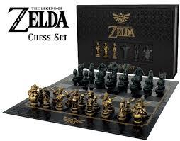 the legend of zelda chess set usaopoly da card world